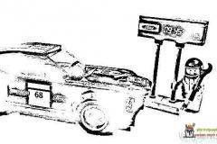 Auto-värityskuva-Ford-Mustang