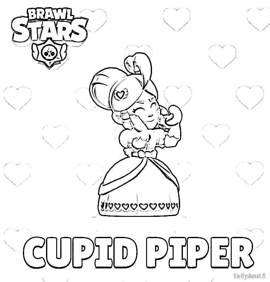 brawl-stars-värityskuvat-Cupid-Piper