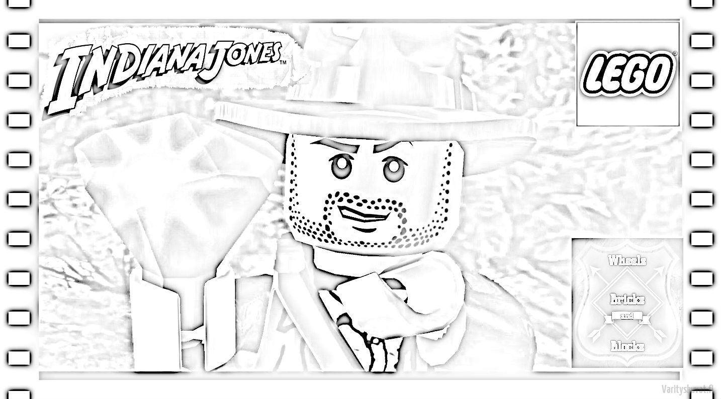 Lego Indiana Jones Varityskuvat Coloring Pages Of
