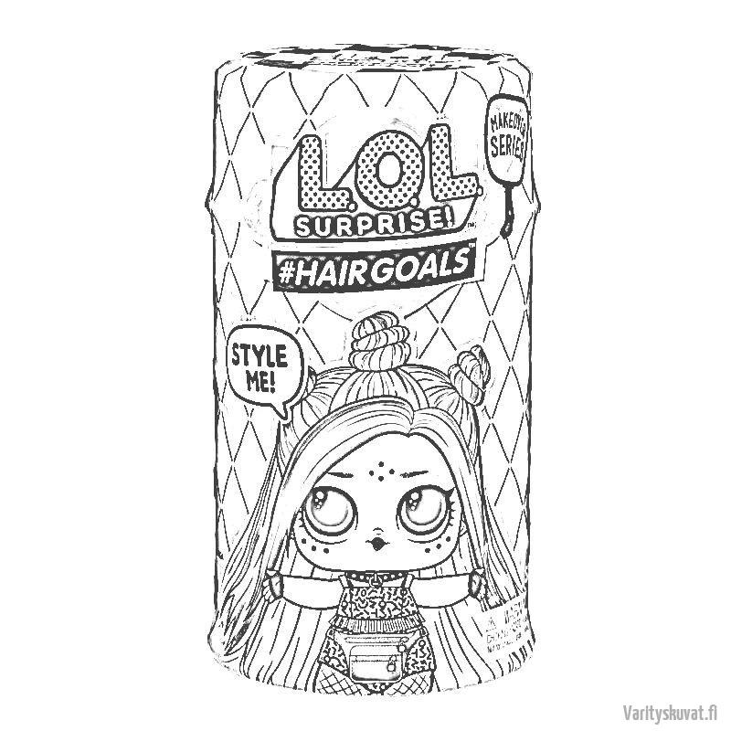 Coloring pages - LOL Surprise - LolsDolls   800x800